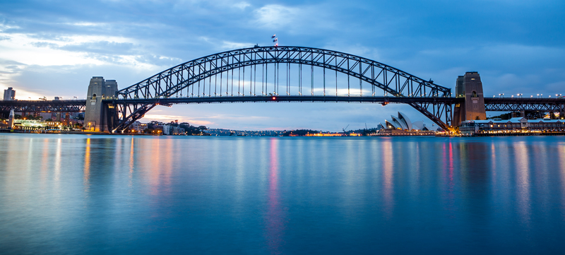 Sydney Harbour Sunrise: Andy Rouse/ Flickr